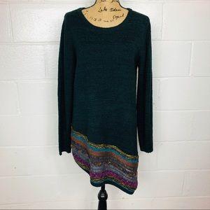 Soft Surroundings Asymmetrical Sweater Tunic XL